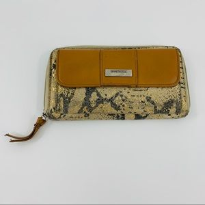 Kenneth Cole Reaction Zip Around Animal Wallet